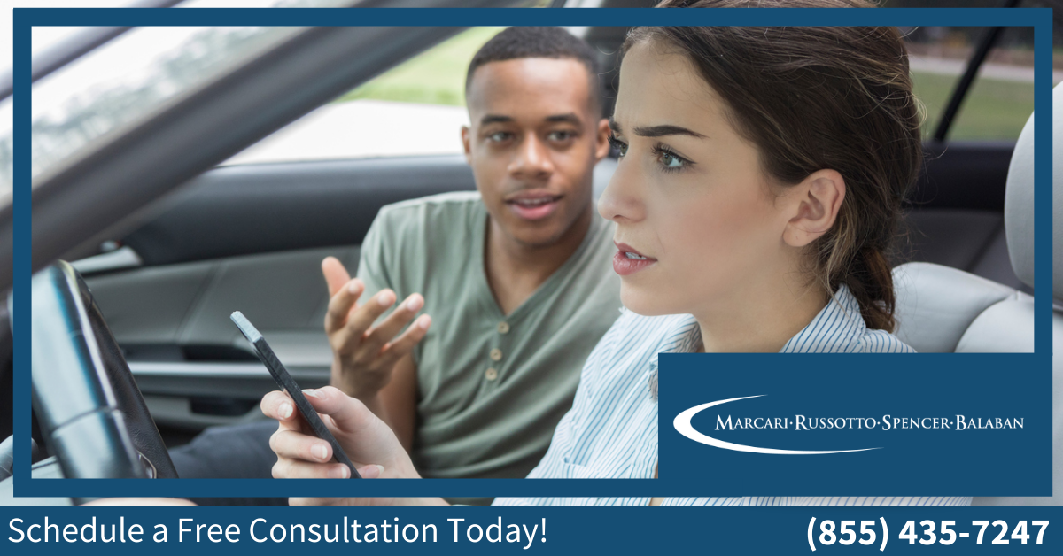 Distracted Driving, Cognitive, Manual, Visual, Car Accident, MVA, Motor Vehicle Accident