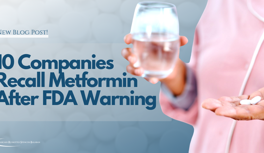 10 Companies Have Recalled Metformin Since FDA Warning!
