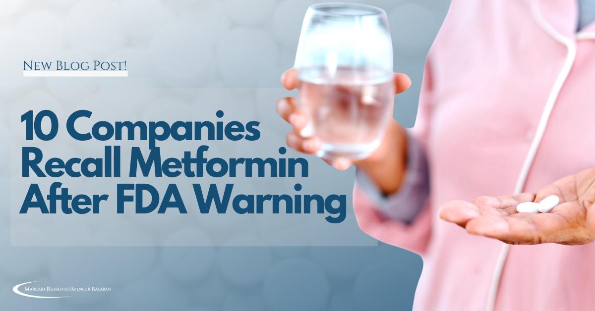 Metformin, Metformin Cancer, Metformin Side Effects, Mass Torts, Attorney, Lawyer, North Carolina, South Carolina, Virginia, Don Marcari, MRSB