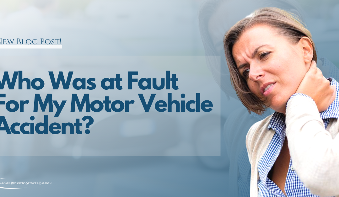 Who Was at Fault in My Car Accident?