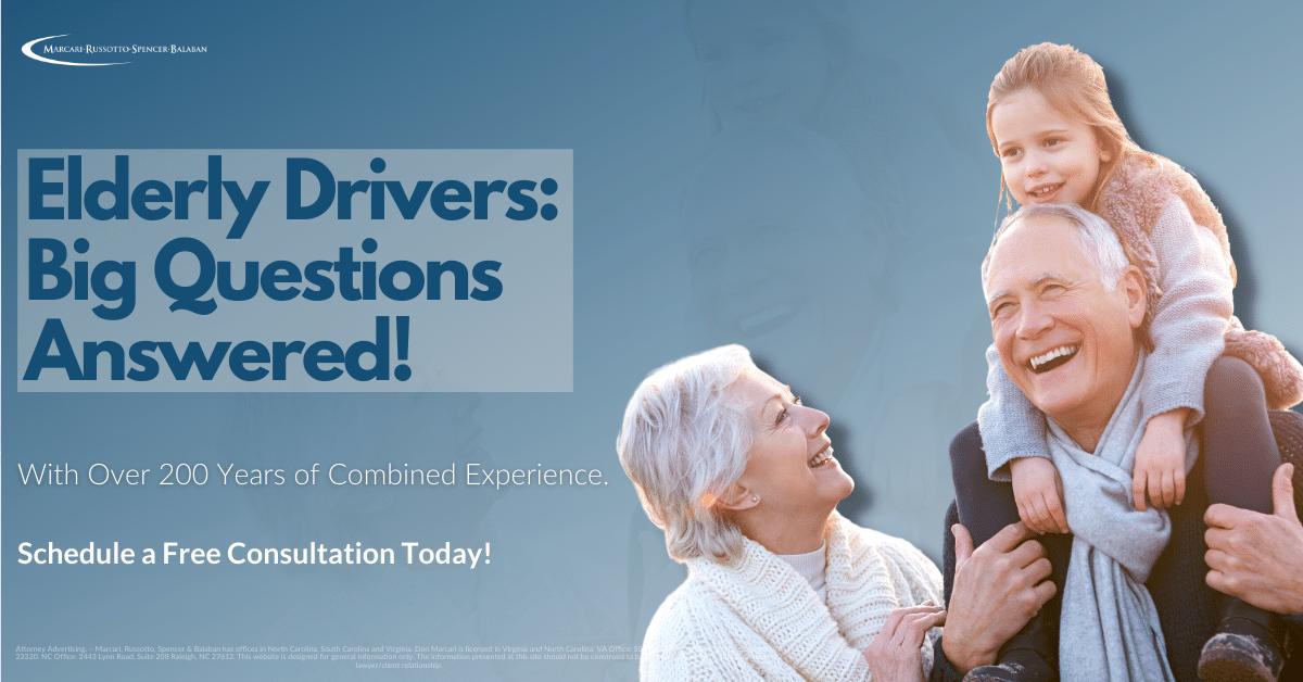 Elderly Drivers, Elderly Driver, Accident, Motor Vehicle