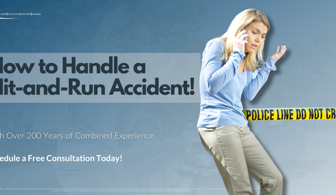 How to Handle a Hit-and-Run Accident!